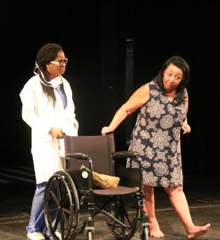 From left: Carla Henry (M's Nurse), SuAndi
